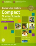Compact First for Schools. Student's Book with answers (+CD)