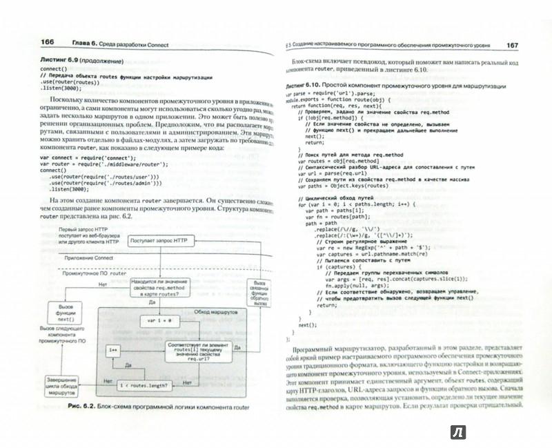 Иллюстрация 1 из 6 для Node.js в действии - Кантелон, Хартер, Головайчук, Райлих | Лабиринт - книги. Источник: Лабиринт