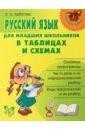 Арбатова Елизавета Алексеевна Русский язык для младших школьников в таблицах и схемах