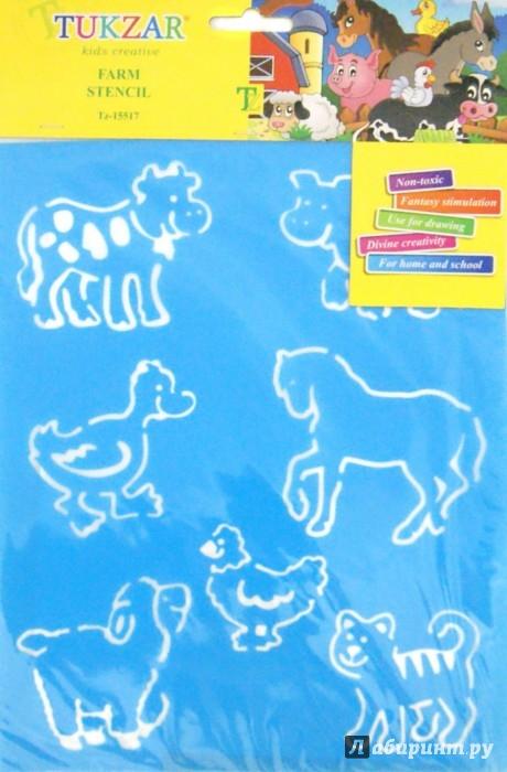 Иллюстрация 1 из 5 для Трафарет пластиковый Домашние животные (TZ 15517) | Лабиринт - игрушки. Источник: Лабиринт