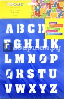 Трафарет пластиковый Английский алфавит (TZ 15522)