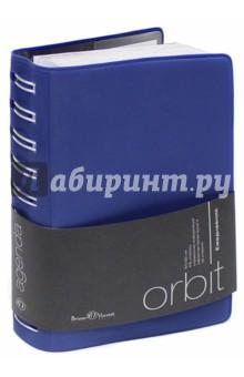 """Ежедневник полудатированный """"Orbit"""" (А6, синий) (3-160/02) Bruno Visconti"""