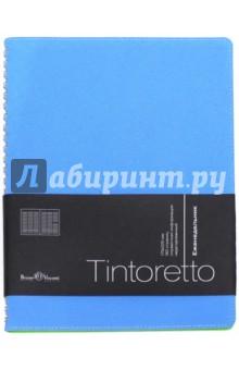 Еженедельник недатированный Tintoretto (В5, бирюзовый) (3-513/10)Ежедневники недатированные и полудатированные А5<br>Ежедневник недатированный.<br>Формат: В5 (175х225 мм)<br>Количество страниц: 160<br>Внутренний блок: офсет <br>Тип линовки: линия<br>Крепление: спираль<br>Содержит информационный блок.<br>Сделано в Китае.<br>
