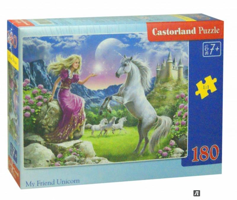 Иллюстрация 1 из 6 для Puzzle - 180. Единороги (B-018024) | Лабиринт - игрушки. Источник: Лабиринт