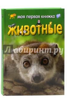 Моя первая книжка. ЖивотныеЖивотный и растительный мир<br>Откуда пошло название рыба-клоун?<br>Как живут львы?<br>Кто такие хамелеоны?<br>Ответы на эти вопросы ты найдешь в этой книжке!<br>Эта занимательная книга с фотографиями и картинками познакомит тебя с животными со всего света! Ты узнаешь, где живут страусы, панды, носороги, сурикаты и другие животные, что они едят, какие у них повадки и еще много интересного.<br>Интересные факты:<br>- размеры животных<br>- образ жизни<br>- питание<br>- забота о детенышах<br>- защита от врагов<br>- места обитания<br>- особенности характера<br>Для детей 4-6 лет.<br>