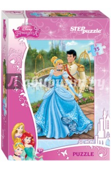 "Step Puzzle-35 ""Disney. Золушка"" (91129)"
