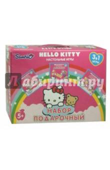 Настольная игра Hello Kitty. Подарочный набор 3 в 1