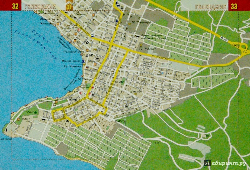 Иллюстрация 1 из 5 для Черноморское побережье. Города-Курорты. Карманный атлас | Лабиринт - книги. Источник: Лабиринт