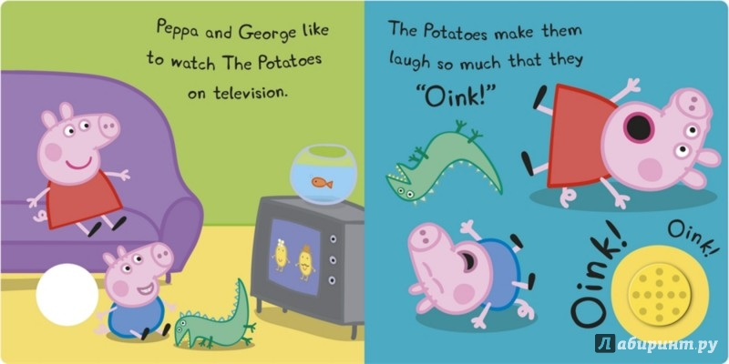 Иллюстрация 1 из 2 для Oink! Oink!   Лабиринт - книги. Источник: Лабиринт