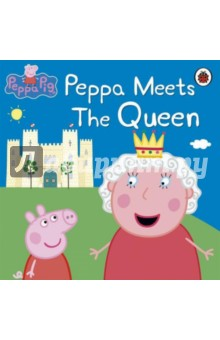 Peppa Meets The QueenАнглийский для детей<br>Hip, hip, hooray! The Queen is going to award Miss Rabbit a medal for all her hard work.<br>What will happen when Peppa and her friends go to the palace to meet Her Majesty?<br>