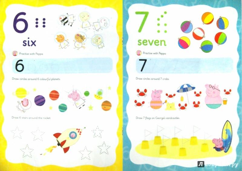 Иллюстрация 1 из 6 для Wipe-Clean Numbers - Mandy Archer | Лабиринт - книги. Источник: Лабиринт