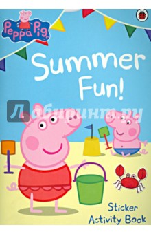 Summer Fun! Sticker Activity BookАнглийский для детей<br>Рерра, Greorge and all their friends love the summertime!<br>Join in the fun with this super summer activity book, packed with puzzles, games - and stickers too!<br>