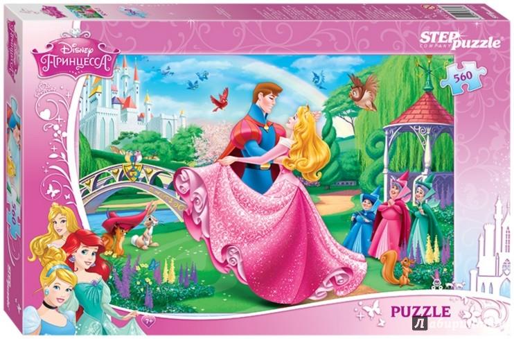 """Иллюстрация 1 из 2 для Step Puzzle-560 """"Disney. Спящая красавица"""" (97032)   Лабиринт - игрушки. Источник: Лабиринт"""