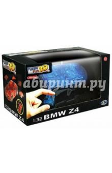 3D модель-пазл BMW Z4 полупрозрачный синий (57087)