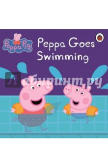 Peppa Goes SwimmingИзучение иностранного языка<br>Peppa and George are going swimming, but George is a bit scared. How will Mummy and Daddy Pig ever convince him to get in the pool? Read this fun story to find out.<br>