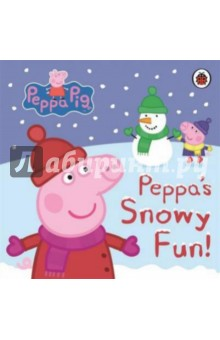 Snowy FunИзучение иностранного языка<br>The snow is falling and Peppa and George can t wait to build a great big snowman!<br>