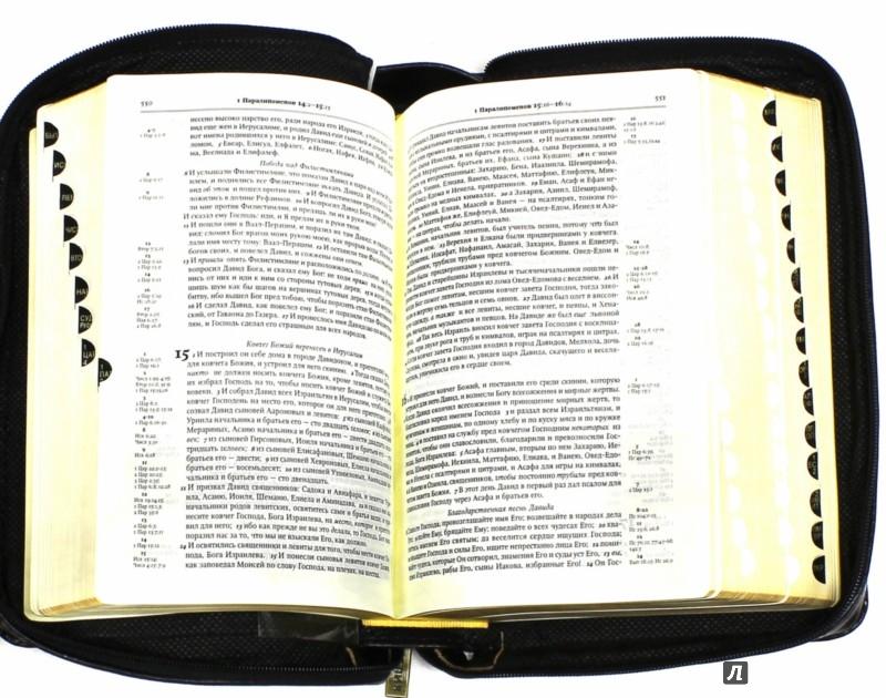 Иллюстрация 1 из 16 для Библия. Книги Священного Писания Ветхого и Нового Завета. С  комментариями и приложениями | Лабиринт - книги. Источник: Лабиринт
