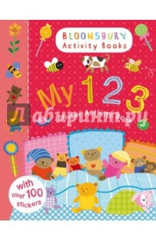 My 1 2 3. Sticker Activity BookИзучение иностранного языка<br>A fantastic book of counting fun! A great introduction to 1-10, with beautiful illustrations and fantastic stickers. Bloomsbury Activity Books is an exciting new Bloomsbury brand designed to provide hours of colouring, doodling, stickering and activity fun for boys and girls alike. Every book includes enchanting, bright and beautiful illustrations which children and parents will find very hard to resist. Perfect for providing entertainment at home or on the move!<br>