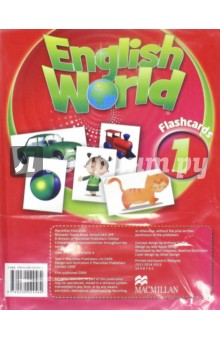 English World 1. FlashcardsАнглийский язык<br>English World is a stunningly visual ten- level course which will take children through from primary to secondary. Written by the authors of best- sellers Way Ahead and Macmillan English, English World combines best practice methodology with innovative new features for the modern classroom. Active whole- class learning is supported by vibrant posters and interactive activities on the DVD- ROM. through grammar and skills work is applied in natural contexts in the real world, through dislogues and cross- curricular material. English World providesa complete package for today s teachers and pupils.<br>