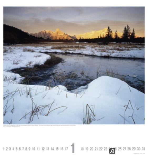 Иллюстрация 1 из 3 для Календарь 2015. ОЧАРОВАНИЕ ПРИРОДЫ (45х48 см) (77014) - Popp, Popp-Hackner | Лабиринт - сувениры. Источник: Лабиринт