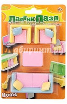 Набор ластики - пазлы Мебель для дома (ERS2002B)