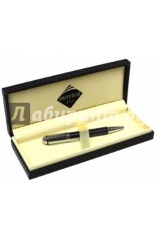 Ручка шариковая, цвет корпуса черный (739423)Ручки шариковые автоматические синие<br>Ручка шариковая автоматическая.<br>Цвет чернил: синий.<br>Упаковка6 подарочная коробка.<br>Сделано в Китае.<br>