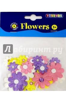 Набор самоклеящихся цветочков (2470094)Сопутствующие товары для детского творчества<br>Набор самоклеящихся цветочков со стразами.<br>Не рекомендуется детям до 3-х лет. Содержит мелкие детали.<br>Сделано в Швеции.<br>