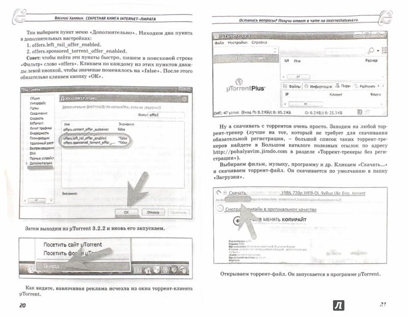 Иллюстрация 1 из 4 для Секретная книга internet-пирата - Василий Халявин | Лабиринт - книги. Источник: Лабиринт
