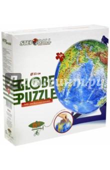 Настольная игра Глобус-пазл. Физическая карта мира