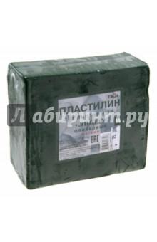 Пластилин скульптурный Лицей (оливковый, мягкий, 0,5 кг) (2.80.Е050.004)