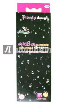 Пластилин плавающий флуоресцентный Акваформ (6 цветов, стек) (283002)