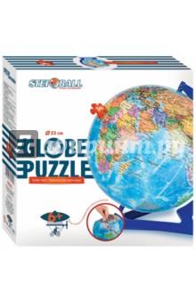Настольная игра Глобус-пазл. Политическая карта мира