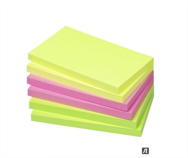 Иллюстрация 1 из 2 для Блок-кубик. 3 цвета. 6 шт. 125х75 мм. 80 мл.(5855-21) | Лабиринт - канцтовы. Источник: Лабиринт