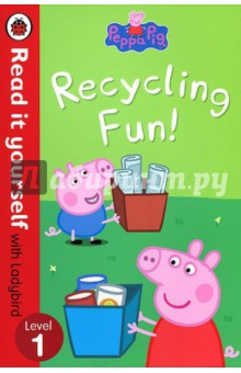Recycling Fun!Английский для детей<br>Peppa and her family have lots of fun recycling their rubbish. But then Miss Rabbit tries to recycle something else...<br>Read it yourself is a series of character stories and traditional tales, written in a simple way for children who are learning to read.<br>