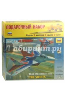 """Самолет """"МиГ-29"""" авиагруппа высшего пилотажа """"Стрижи"""" (7234П) Звезда"""