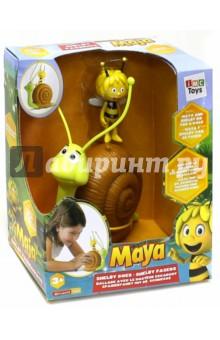Каталка. Улитка с пчелкой Maya. В коробке (200104) IMC Toys