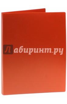 Папка на кольцах BASIC красная (2 кольца) (255070-27)