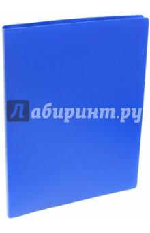 """Папка на кольцах """"Basic"""" (4 кольца, А4, синяя) (255071-02) Silwerhof"""