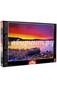 Пазл-2000 Закат (16315)Пазлы (2000 элементов и более)<br>Пазл-мозаика.<br>2000 деталей.<br>Размер собранной картинки: 96 х 68 см.<br>Материал: картон.<br>Упаковка: картонная коробка.<br>Сделано в Испании.<br>