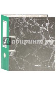 """Папка-регистратор """"Classic"""" (корешок 75 мм, зеленый) (355004-03)"""