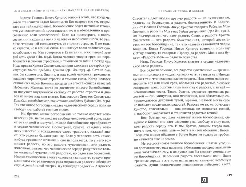 Иллюстрация 1 из 16 для Мы знаем тайну жизни. Судьба и пастырский подвиг архимандрита Бориса (Холчева)   Лабиринт - книги. Источник: Лабиринт