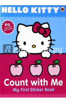 Hello Kitty Count with Me Sticker Book
