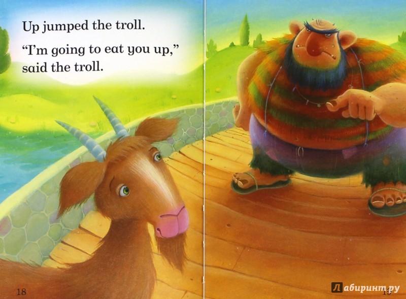Иллюстрация 1 из 8 для Three Billy Goats Gruff   Лабиринт - книги. Источник: Лабиринт