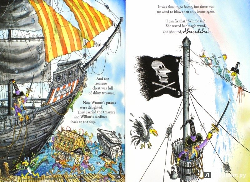 Иллюстрация 1 из 19 для Winnie's Pirate Adventure - Valerie Thomas   Лабиринт - книги. Источник: Лабиринт