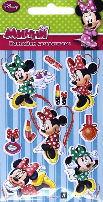 Иллюстрация 1 из 18 для Disney яркие наклейки Минни Маус (DsS01) | Лабиринт - игрушки. Источник: Лабиринт