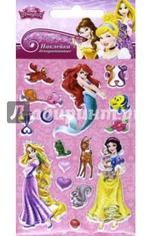 Disney яркие наклейки Принцессы 2 (DsS03)