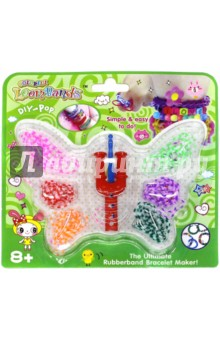 Набор цветных резиночек Бабочка (180 шт) (TZ 12856) TUKZAR