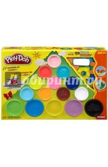 Набор пластилина 15 банок в коробке PLAY-DOH (22570)