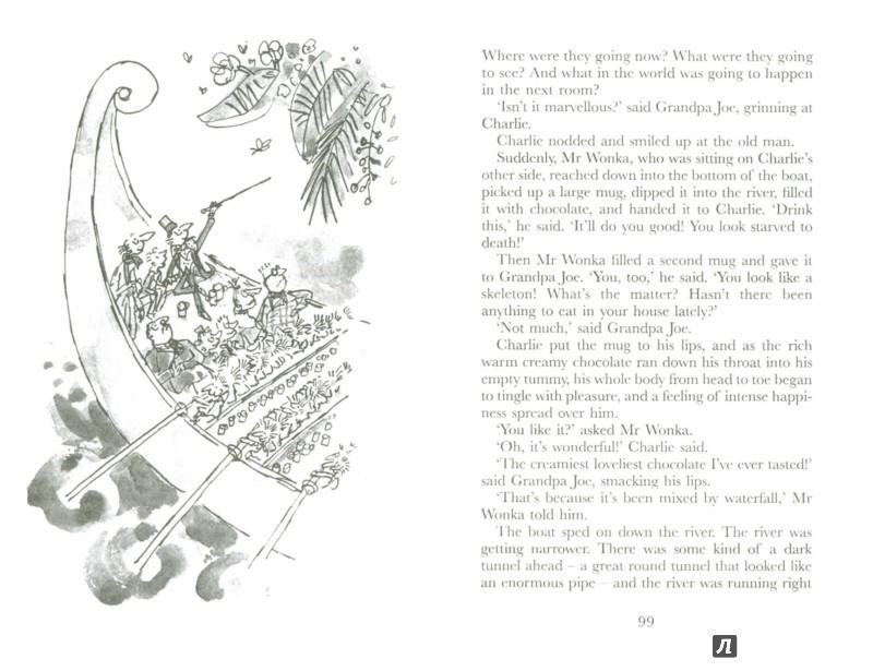 Иллюстрация 1 из 18 для Charlie and the Chocolate Factory - Roald Dahl | Лабиринт - книги. Источник: Лабиринт