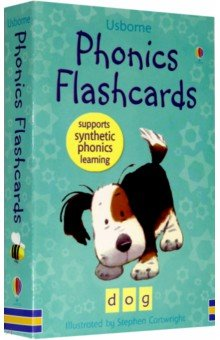 Phonics Flashcards (44 cards)Английский для детей<br>Each card shows a picture of a familiar word, its alphabetical spelling and breakdown of its phonetic components, with one card for each of the 44 basic phonemes in English. Synthetic phonic learning is the process of reading by sounding the individual sounds of a word and then blending them together to read the word as a whole.<br>